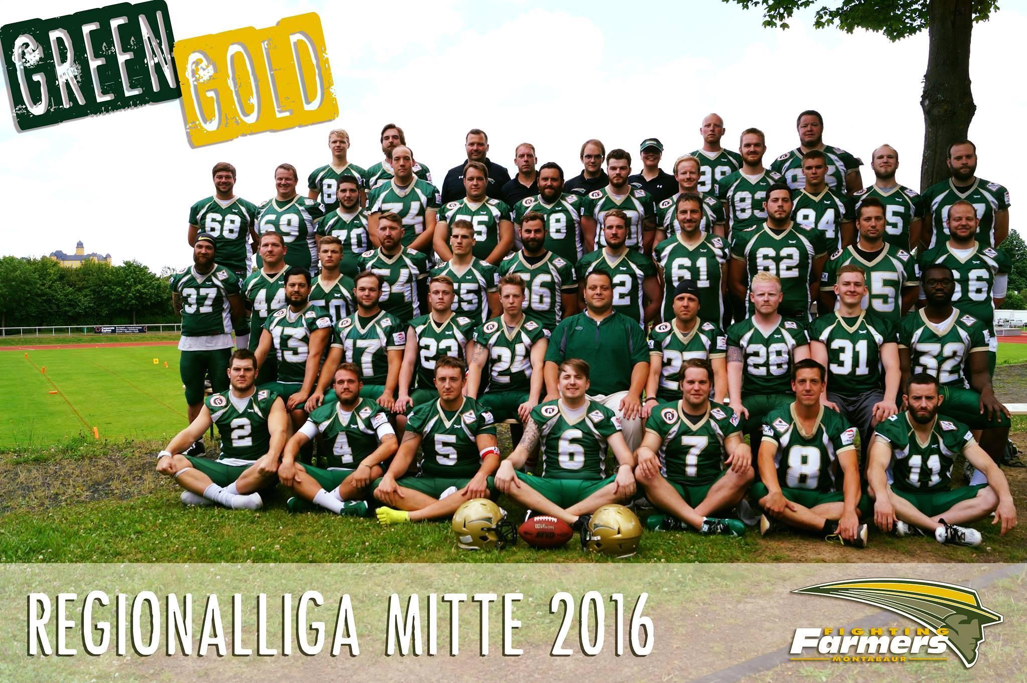 Mannschaftsfoto 2016